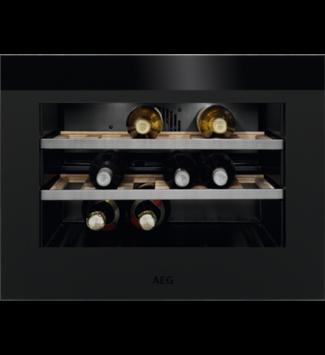 AEG KWK884520T Beépíthető borhűtő, 18 palack, Matt fekete