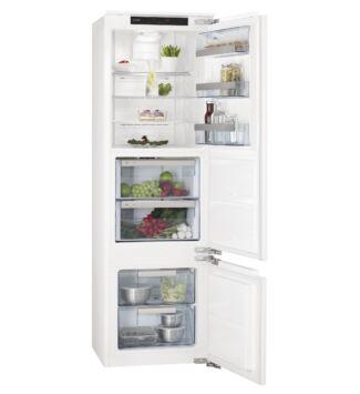 AEG Beépíthető Alulfagyasztós Hűtőgép SCE81821LC