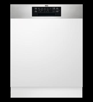 AEG FEE72706PM Beépíthető mosogatógép, MaxiFlex fiók, 15 teríték, AirDry, 9 program