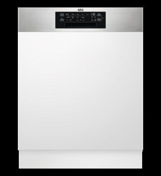 AEG FEE84706PM Beépíthető mosogatógép, MaxiFlex fiók, 15 teríték, AirDry, 9 program