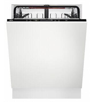 AEG FSB53627P Beépíthető mosogatógép, Quickselect kezelőpanel, 13 teríték, AirDry, 7 program, D