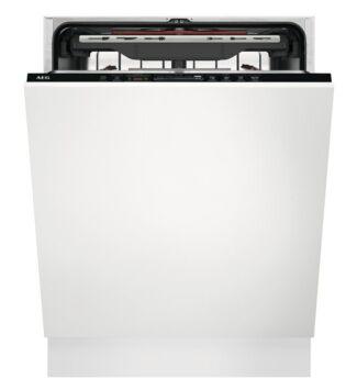 AEG FSK73768P Beépíthető mosogatógép, WiFi, 15 teríték, QuickSelect kezelőpanel, MaxiFlex fiók,  AirDry, 7 program