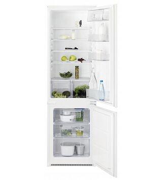 Electrolux KNT2LF18S Beépíthető kombinált hűtőszekrény, 178 cm, F