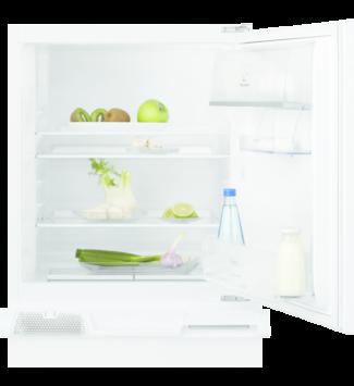 Electrolux LXB2AF82S Beépíthető hűtőszekrény, 82 cm, F, vezérlés: belül, mechanikus vezérlés, nettó kapacitás (hűtőtér): 127 l, zajszint: 37 dB, 1 széles zöldségtároló fiók