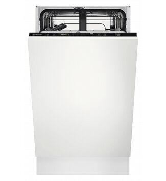 Electrolux EEQ42200L Beépíthető keskeny mosogatógép, 9 teríték, AirDry, Quickselect kezelőpanel, E