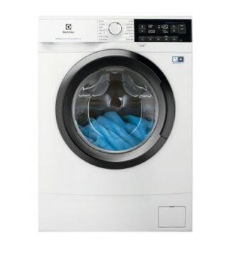 Electrolux Szabadonálló, Keskeny kivitelű, Elöltöltős mosógép, 60 cm EW6S327SI
