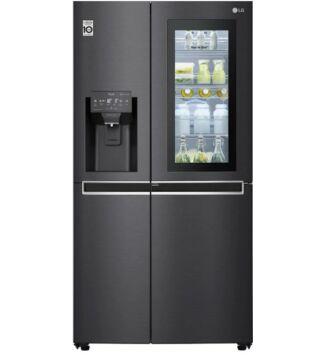 LG GSX961MCCZ, A++ energiaosztályú InstaView Door-in-Door™ Side-by-Side, 601 l, hűtőszekrény