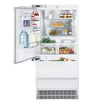 Liebherr ECBN 6156(617) Beépíthető Kombinált Hűtőgép balos ajtóval, 471 l, F