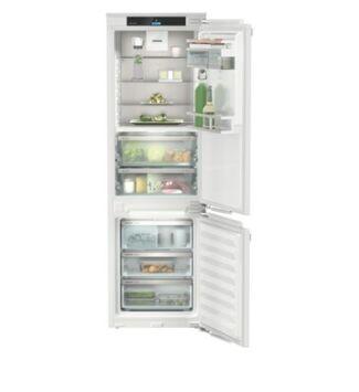 Liebherr ICBNd 5163 Beépíthető Kombinált Alulfagyasztós Hűtőgép, BioFresh, NoFrost, 175 l / 71 l, 178 cm, D