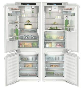 Liebherr IXCC 5165 Beépíthető Side by Side Hűtőgép, Prime, BioFresh, NoFrost, ICE Maker, D