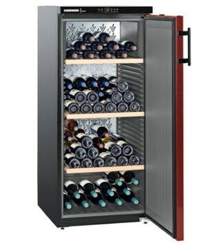 Liebherr WKr 3211 Szabadonálló Borklíma készülék E, Fekete, 164 palack, 295 l,
