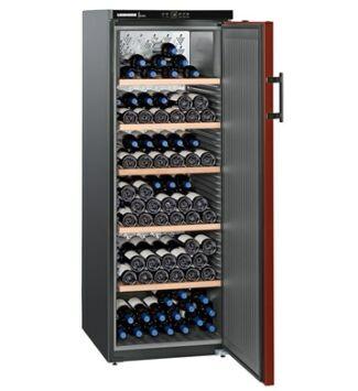 Liebherr WKr 4211 Szabadonálló Borklíma készülék F, Fekete, 200 palack, 377 l,