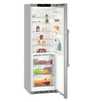 Liebherr KBef 4330 Szabadonálló Hűtőgép, Silver, D, 185 cm, 366 l,
