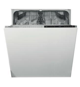Whirlpool beépíthető mosogatógép, 60 cm, A+++, 14 teríték, 10 program, 9,5 l, WIP 4T133 PE S
